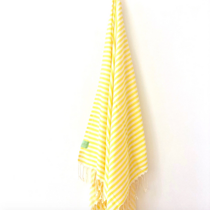 Yellow Lemon Hamman Towel from My Luxe
