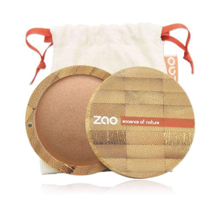 Refillable Bronzer from Zao bronzer Zao Cosmetics