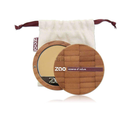 Refillable Compact Foundation from Zao- multiple shades foundation Zao Cosmetics