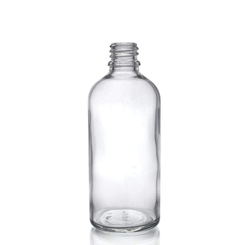 Glass Bottle - 100ml Clear Glass Dropper Bottle And Spray Pump