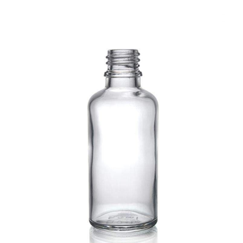 Glass Bottle - 50ml Clear Glass Dropper Bottle And Glass Pipette