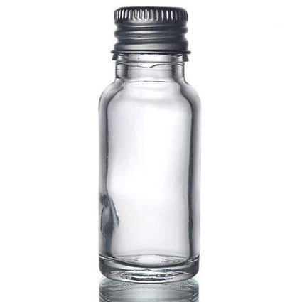 Glass Dropper Bottle with Aluminium Cap