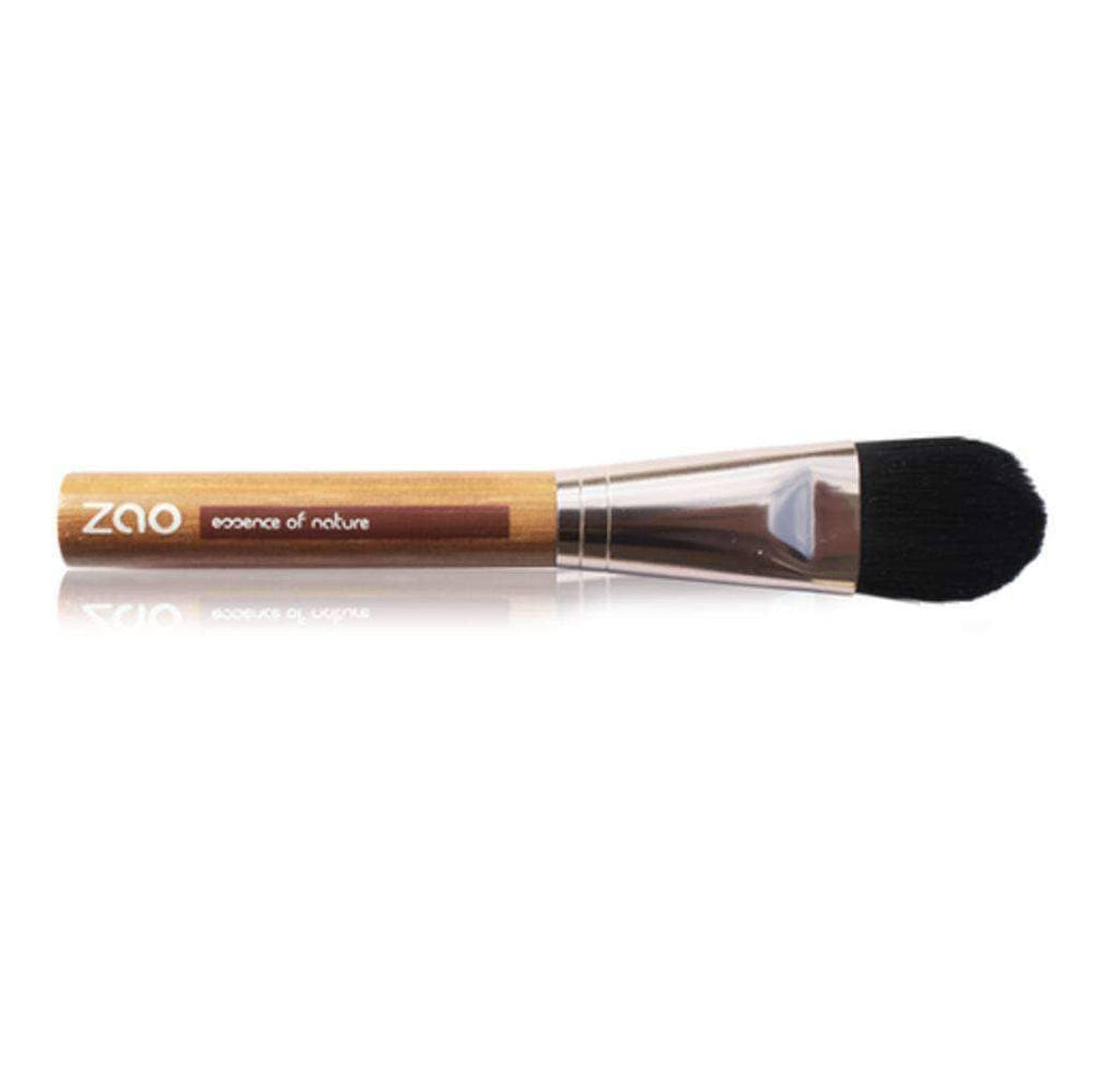 Makeup Brushes - Bamboo Foundation Brush From Zao