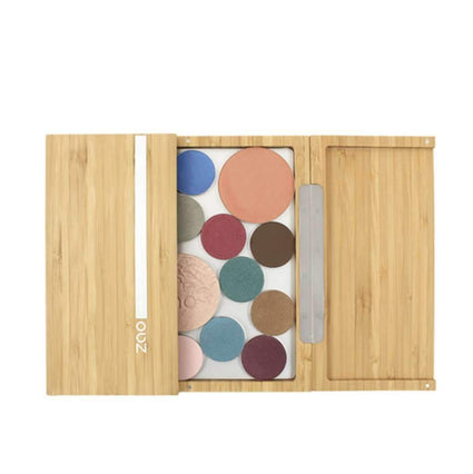 Bamboo Large Makeup Palette from Zao makeup palette Zao Cosmetics