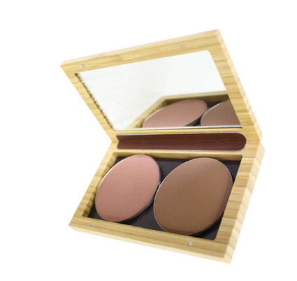 Bamboo Mini Makeup Palette from Zao makeup palette Zao Cosmetics