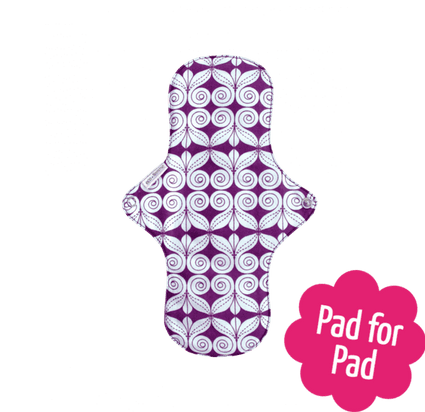Organic Cotton Day Pad Plus from EcoFemme - Acala