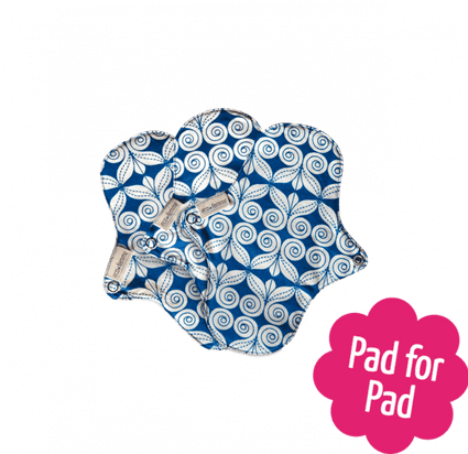 Organic Cotton Pantyliners from EcoFemme pantyliner EcoFemme