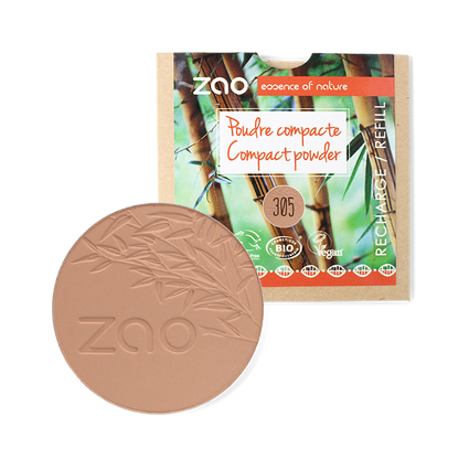 Compact Powder Refill from Zao - multiple shades - Acala