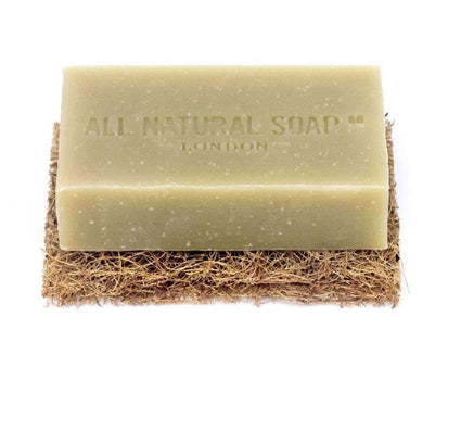 Rectangular Biodegradable Soap Dish Pad soap dish All Natural Soap Co