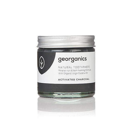 Activated Charcoal Toothpaste from Georganics toothpaste Georganics