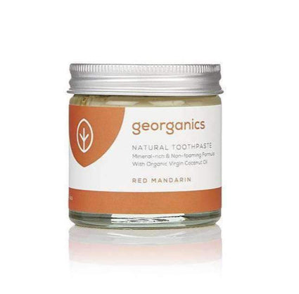 Red Mandarin Kids Toothpaste from Georganics - Acala