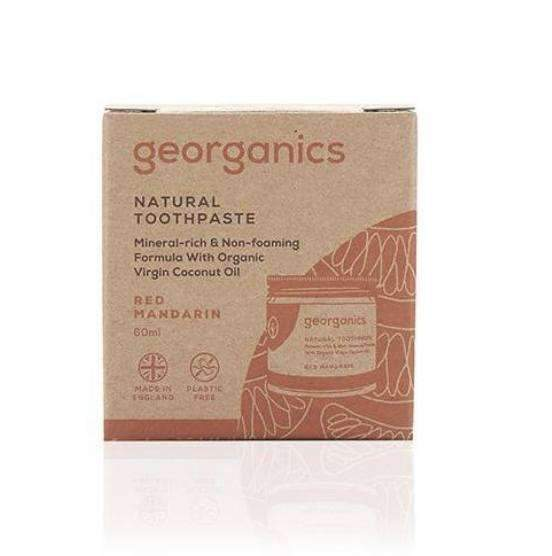 Toothpaste - Red Mandarin Kids Toothpaste From Georganics
