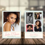Vintage Model Comp Card | The Comp Card Shop