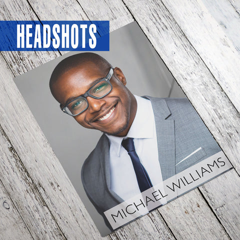Pro 8x10 Headshot | The Comp Card Shop