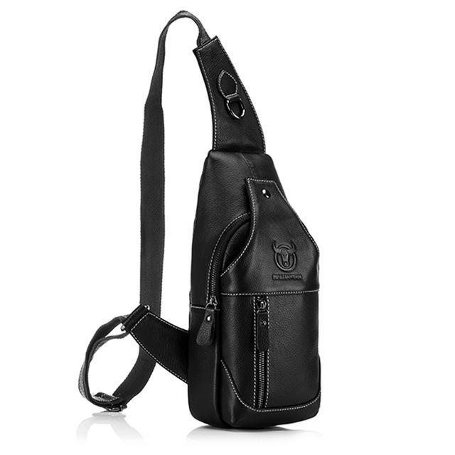 BULL CAPTAIN Leather Crossbody Bag