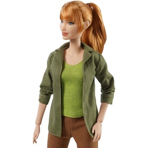 Mattel® Barbie® Jurassic World® Claire Doll Wearing Movie-Inspired Look