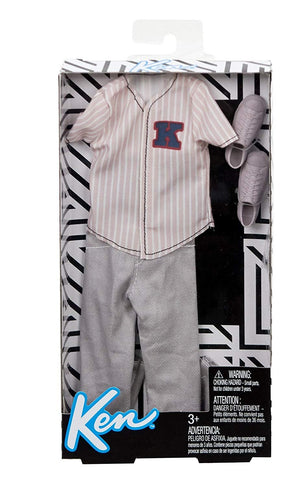 Mattel® Barbie® Ken® Baseball Jersey Fashion Pack