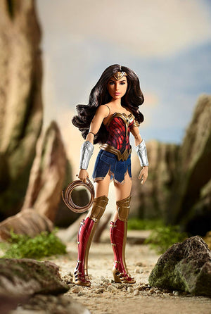 Mattel® Barbie® Battle-Ready Wonder Woman 12 Inch Doll with Lasso of Truth - Justice League Figure