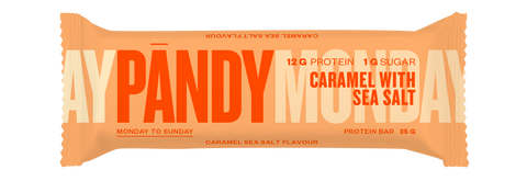 Protein Bar Pandy Caramel Sea Salt