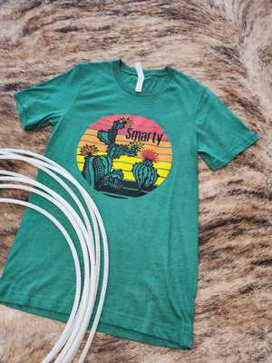 Desert Sunset Smarty Graphic Tee