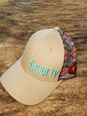 Tan Aztec Mesh Smarty Faith Hat