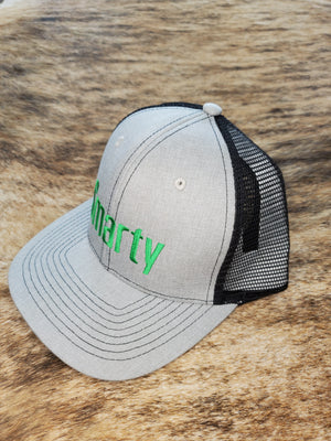 Classic Light Grey Smarty Hat