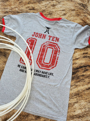 John 10:10 Smarty Faith Tee