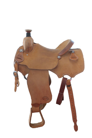 Smarty Rough-Out Roper Saddle