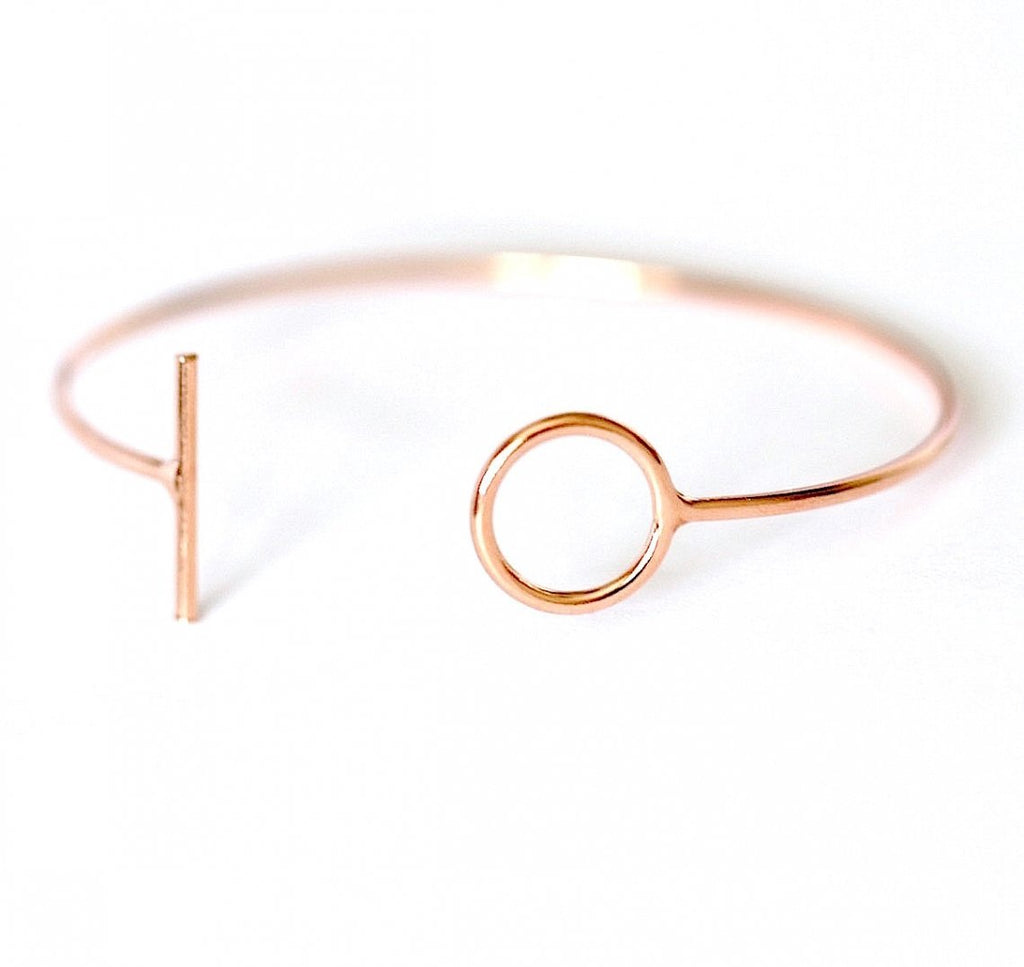 Roselyn Rose Gold Cuff