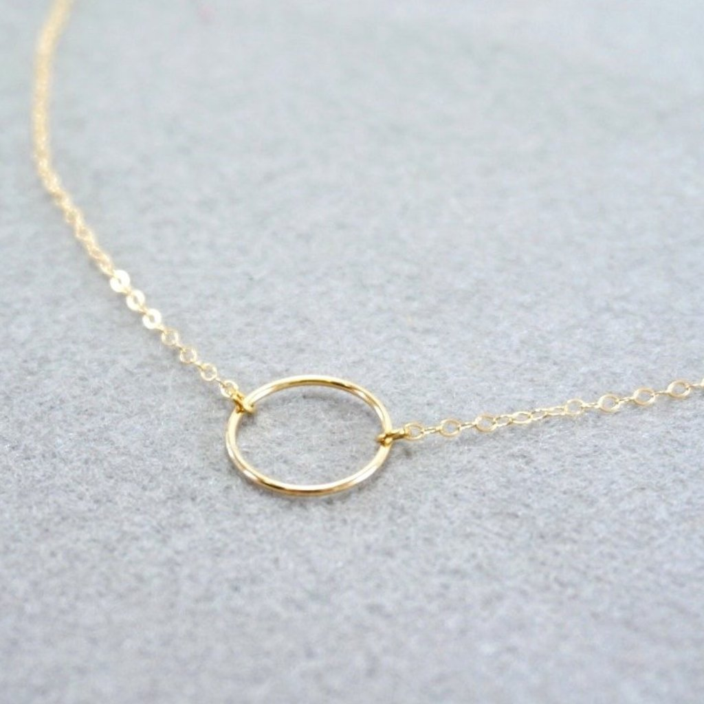 Stella Circle Necklace