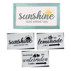 Summer Sign Stencils (3 Pack)