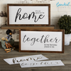 It's So Good To Be Home + Together Is My Favorite Place To Be Stencil Set
