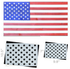50 Star stencil template for making American wood flags, union star field stencil for painting wood stars, ideal for patriotic, 4th of july, independence day projects