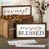 Simply Blessed + Our Nest Stencil Set