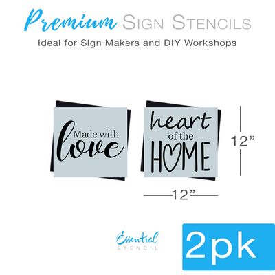 DIY reusable stencils, You have my whole heart stencil, for my whole life stencil, wedding stencils