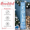Baby It's Cold Outside 4ft Vertical reusable Stencil, DIY Christmas Vertical Front Porch Leaner Signs