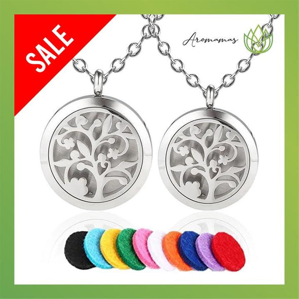 Lovely Tree Aromatherapy Necklace
