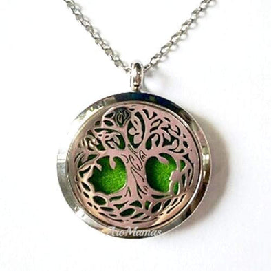 Lovely Tree Of Life Aromatherapy Necklace