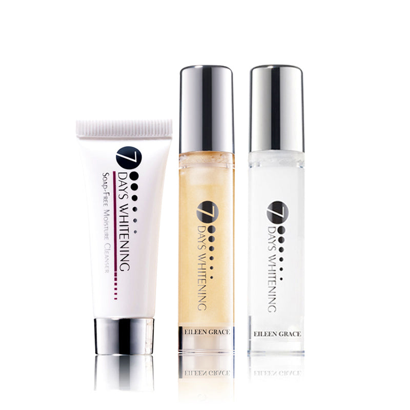SET0056 - Soap Free Cleanser 10ml + Luxury Toner 10ml + Luxury Lotion 10ml