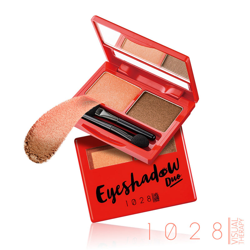 1028 Eyeshadow Duo (#02 Orange Passion)