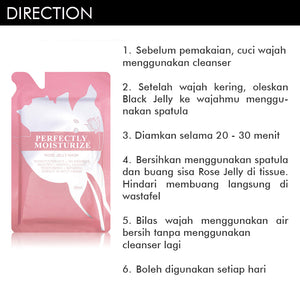 Perfectly Moisturize Rose Jelly Mask 35ml