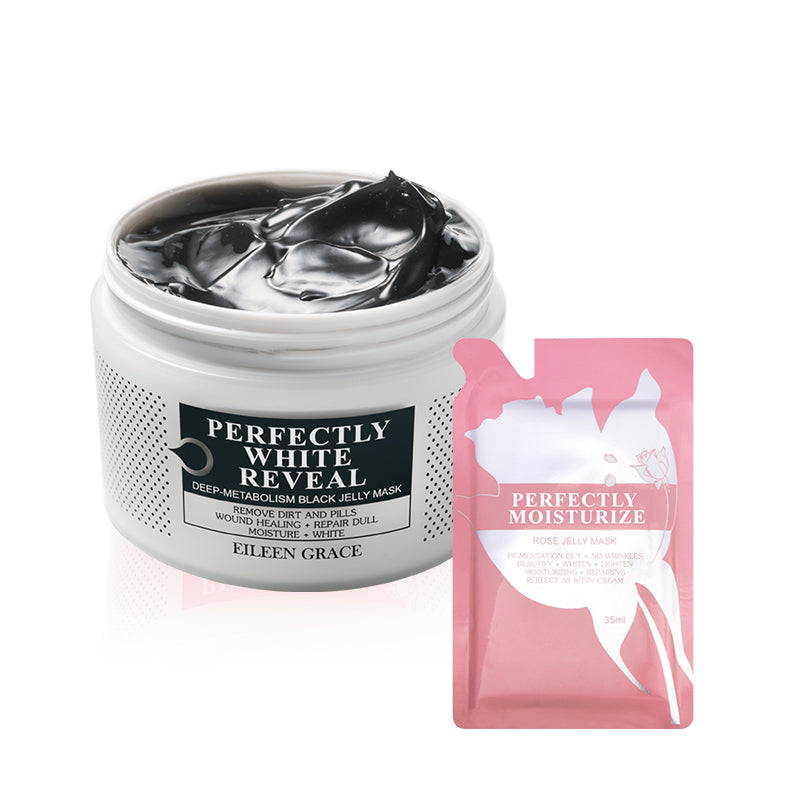 SET0016 - Black Jelly Mask 300ml + Rose Jelly Mask 35ml