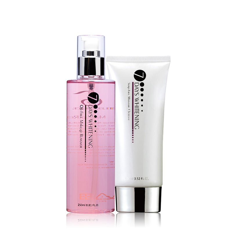 SET0041 - Oil Free Makeup Remover 250ml + Soap Free Moisture Cleanser 100ml