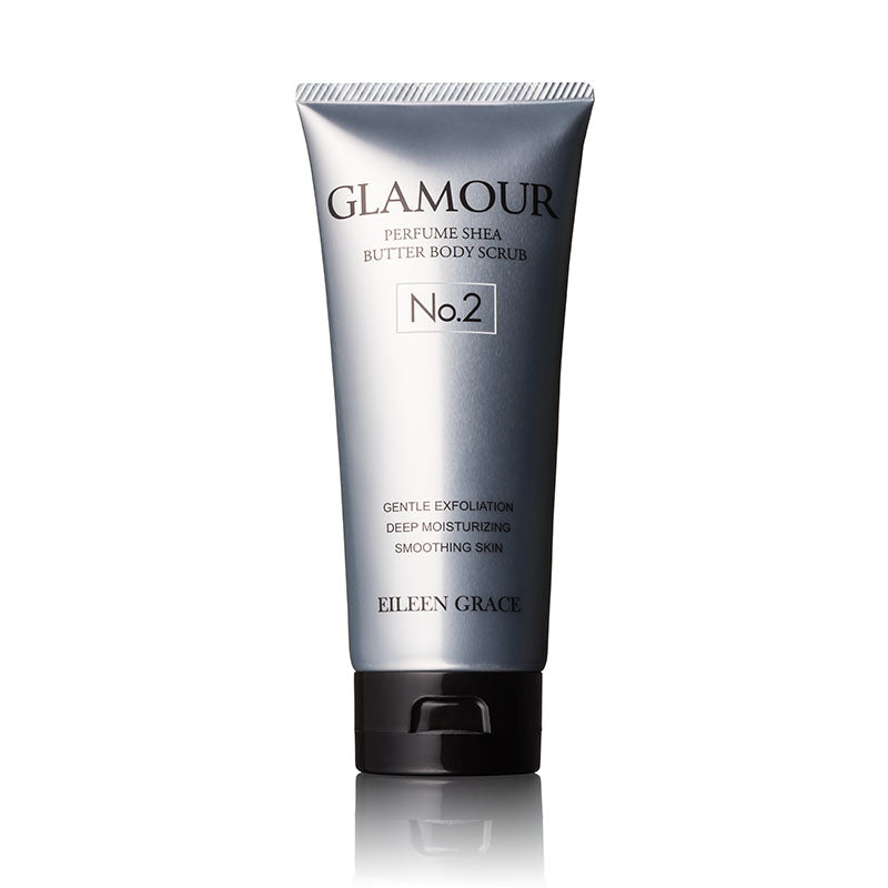 Glamour Perfume Shea Butter Body Scrub 200ml