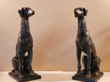 "Large 13"" Sitting Greyhound Sculpture"