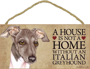 Italian Greyhound Wall Plaque