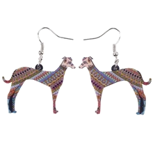 Stylish Greyhound Earrings