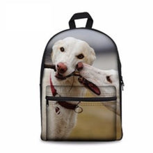 White Greyhounds Backpack