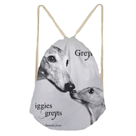 Iggies & Greyts Drawstring Backpack
