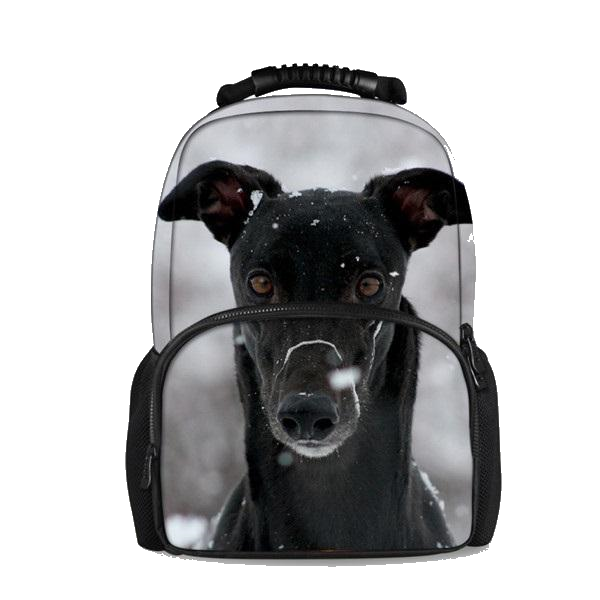 Snowy Greyhound Backpack